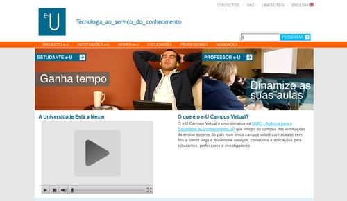 Memorial Website e-U.pt