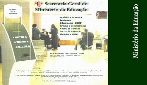 Ministério da Educação 2002