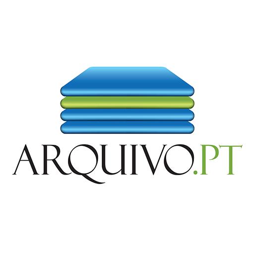 Arquivo.pt logo oficial partilha facebook