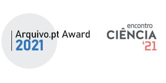 Arquivo.pt Award 2021 - Ceremony at Encontro Ciência 21
