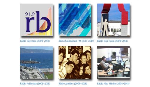 coleção de rádios portuguesas - miniatura