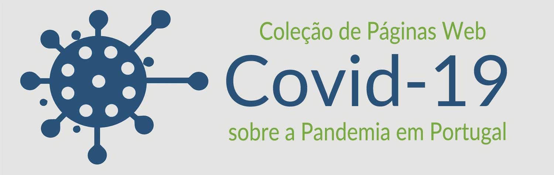 Banner Covid-19 coleção de páginas Web