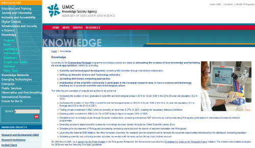 UMIC - Knowledge Society Agency