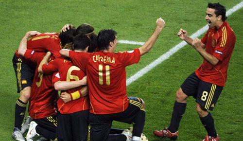 Espanha campeã europeia de futebol 2008