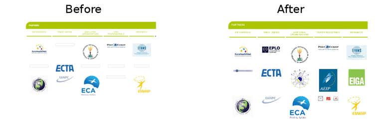 replay healthy-workplaces.eu before and after new version of arquivo.pt
