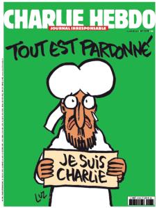 Charlie Hebdo - notícia observador preservada pelo Arquivo.pt