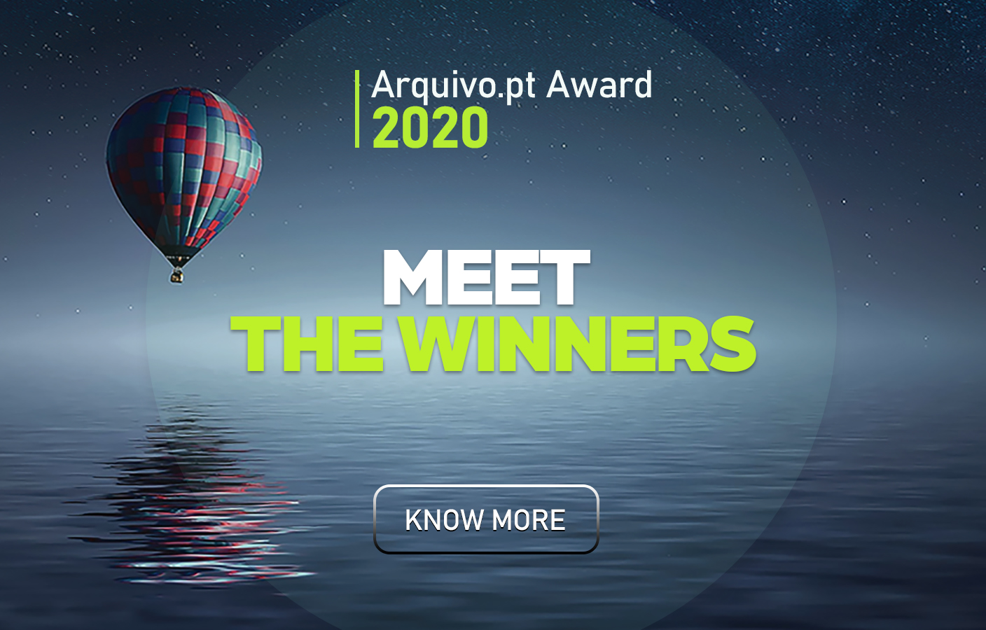 Card Meet the winners of the Arquivo.pt Award 2020