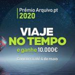 Candidaturas abertas ao Prémio Arquivo.pt 2020!