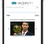 Arquivo.pt goes mobile!