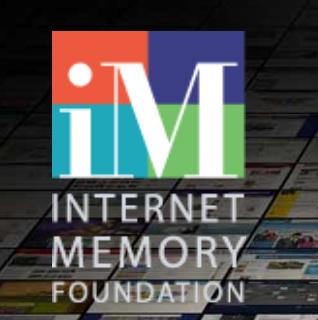 logo Internet Memory Foundation - website