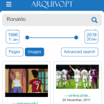 New version of Arquivo.pt (Image Service release)