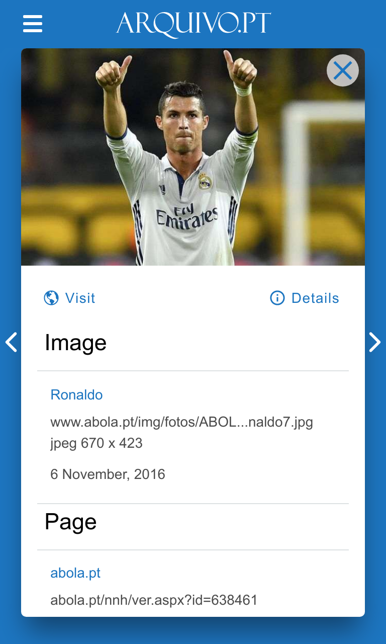 Image detail of Ronaldo