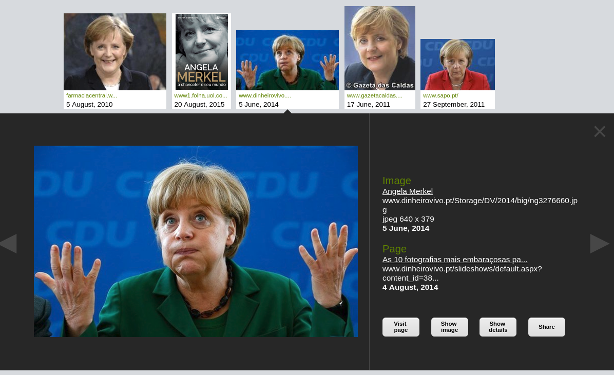 Image search - image view Angela Merkel