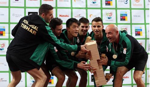 Portugal Campeão Europeu Ténis de Mesa 2014