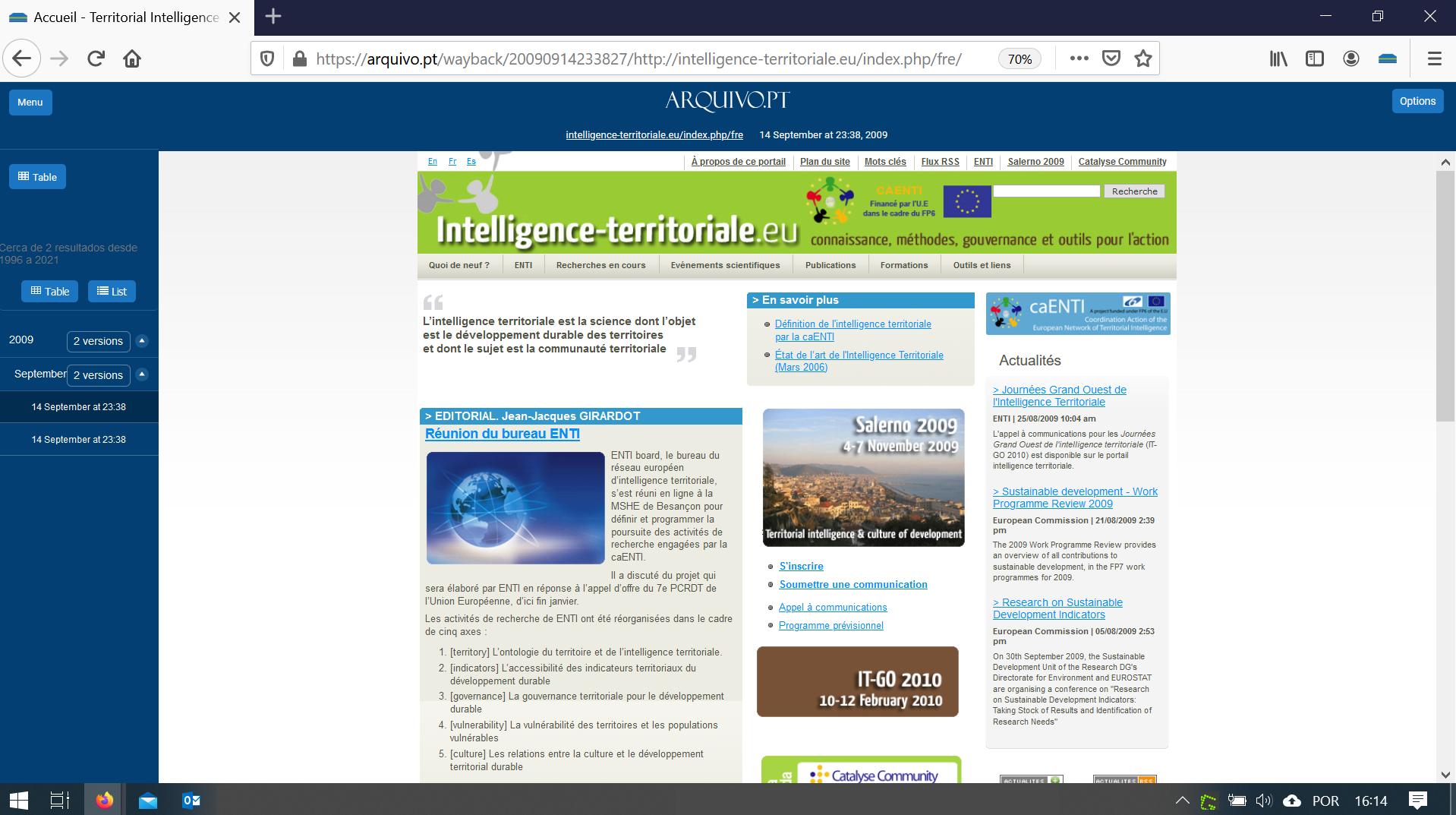 print homepage intelligence-territoriale.eu