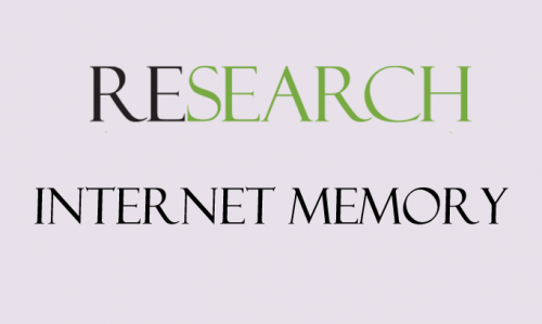 research internetmemory card