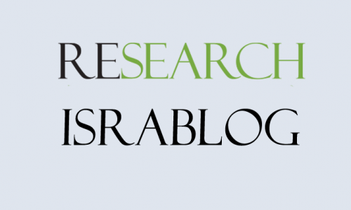 research israblog card
