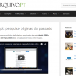 New informative site of Arquivo.pt!