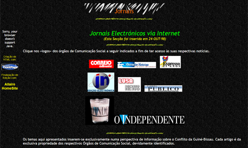 Thumbnail geocities jornais 500x200