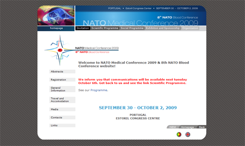 thumbnail website Nato medical conference